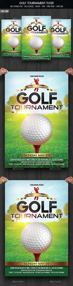 The Best Golf Tournament Ideas Images On Pinterest Golf Outing - Golf tournament flyer template