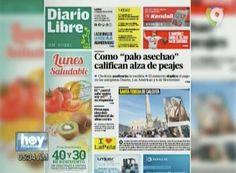 La Inesperada Alza De Los Peajes Es La Noticia Más Caliente En Las Portadas De Los Periódicos Hoy 5 De Septiembre