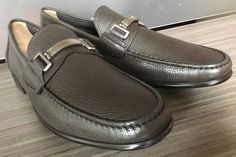 New BALLY SWITZERLAND CORTON BIT LOAFERS BROWN Shoes size 13 $550 #Bally #LoafersSlipOns