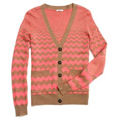 Madewell Graphic Songstress Cardigan in dusty camel. Maybe it's time to break out of my neutral cardi rut?