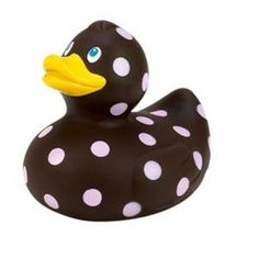 rubber ducky in chocolate