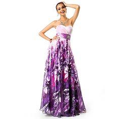 A-line/Princess+Sweetheart+Floor-length+Print+Chiffon+Evening/Prom+Dress+-+USD+$+117.99