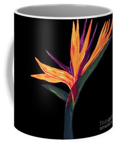 Birds Of Paradise Coffee Mug featuring the painting Architecture Of The Almighty by Jilian Cramb - AMothersFineArt