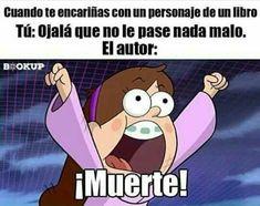 Maldita sea :'v I Love Books, My Books, Stupid Memes, Funny Memes, Humor Otaku, Anime Triste, Funny Spanish Memes, Book Memes, New Memes