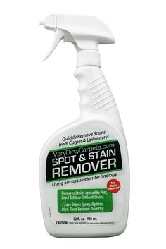 BIG 32 Oz. Carpet U0026 Upholstery Cleaning Spot And Stain Remover By  VeryDirtyCarpets + Free