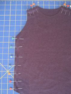 Great tips for sewing with knits