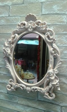 Hand painted mirror