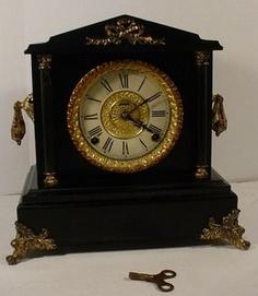 Ingraham mantle clock . ebay.com