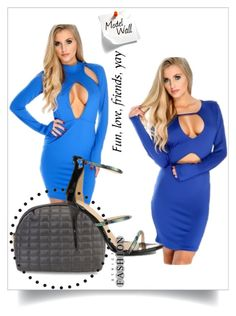 """""""Feeling blue?"""" by amiclubwear ❤ liked on Polyvore featuring inspo, amiclubwear and amifashion"""