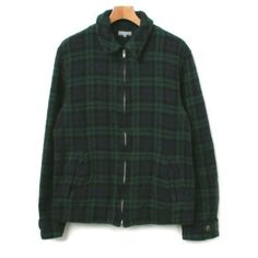 Comme des Garcons Homme mens blackwatch check jacket size large. 238.94 on eBay.