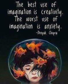 As you imagine the worst, that's what you will receive back. As you imagine the best that's what you'll receive back. Learn the power of imagination www.thesecret.tv/products/the-power-of-henrys-imagination-book