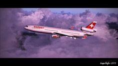 PMDG MD-11 auf dem Weg nach New York