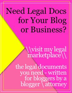 Learn these 7 legal myths about blogging and the truth behind them. Don't make these potentially huge legal mistakes on your blog.