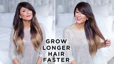 How to grow long hair fast, you're asking? Check out this short video where I share with you my best tips and tricks on how to get long hair faster. Growing Long Hair Faster, Longer Hair Faster, Grow Long Hair, Ways To Grow Hair, How To Grow Your Hair Faster, Pretty Hairstyles, Easy Hairstyles, Workout Hairstyles, Curly Hair Styles