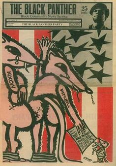 Emory Douglas- The Art of the Black Panther Party