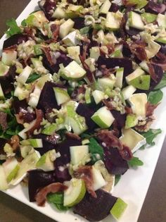 """Search Results for """"Beet root salad"""" – 52 bites Savory Muffins, Wheat Belly, Good Enough To Eat, Beetroot, Beets, Cobb Salad, Healthy Recipes, Healthy Food, Salads"""