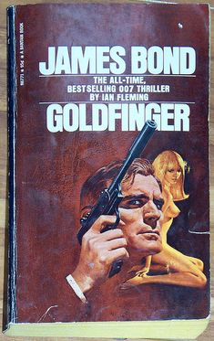 SaLE James Bond  Nude Cover GOLDFINGER Ian by AtomicFrostedBombs, $7.50