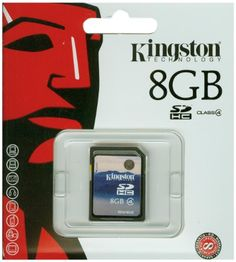 Kingston SD4 SDHC 8GB Class 4 Speicherkarte