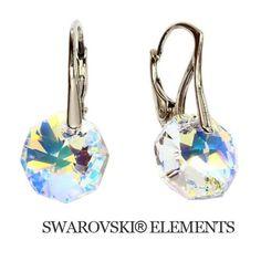 Náušnice Swarovski Elements Sparkly Crystal Divine Jewellery eshop ... cca31836fd8