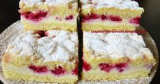Yummy Treats, Sweet Treats, Yummy Food, Healthy Dessert Recipes, Baking Recipes, Czech Recipes, Pastry Cake, Sweet Cakes, Sweet And Salty