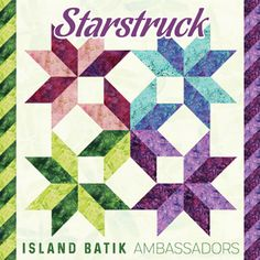 """The products used in this post were given to me by Island Batik . Here was the September Island Batik Ambassador assignment: """"Star. Quilt Square Patterns, Scrap Quilt Patterns, Pattern Blocks, Square Quilt, Quilting Ideas, Fabric Christmas Trees, Christmas Tree Ornaments, Star Quilts, Quilt Blocks"""