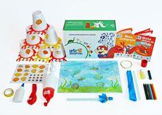 Caixas Surpresas tematicas para criancas com todos os materiais incluidos!