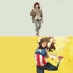 We've gotta do something drastic. This is admitting the world is over. This is saying our generation will never matter. But we have to matter. If we don't, there is no future worth saving Captain Marvel, Marvel Dc, Marvel Comics, Ms Marvel Kamala Khan, Young Avengers, Marvel Comic Character, Marvel Series, Scarlet Witch, Manga