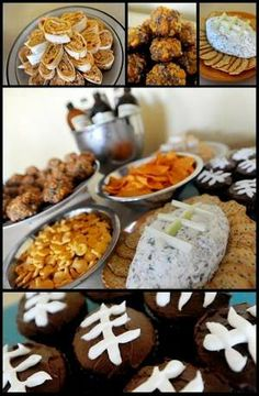Recipes from #Pinterest were the inspiration for this Super Bowl spread. #SuperBowlXLVIII