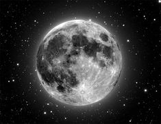 Our moon. What a sight.