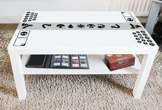 MTG Magic the Gathering Vinyl Decal, Create Your Own Game Table, Play Mat, Home Decor, Trading Card Game by ArtJig on Etsy