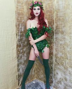 Poison Ivy with knife                                                                                                                                                                                 More