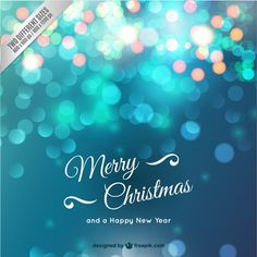 Christmas card with sparkles on Behance