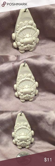 Bayou Handmade Necklace Medallion Bohemian Necklace Medallion  Handmade by Local Cajun Artist Handmade Jewelry Necklaces