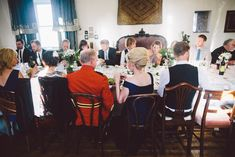 John and Alexs Intimate 30 Guest Reception in the east tower of Springfield Castle in Ireland. See their gorgeous photos by Stephanie & Ben of Taylor Clark Photography @intimateweddings.com #reception #realwedding #smallweddings #castlewedding