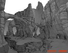 Artes do Game Evolve, do 2K Games, por Stephen Oakley | THECAB - The Concept Art Blog