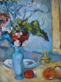 Cezanne, El florero azul