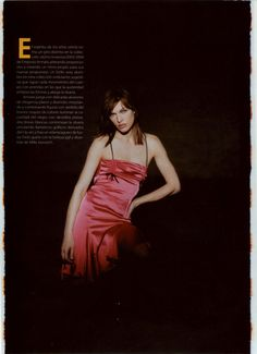 ☆ Milla Jovovich | Photography by Peter Lindbergh | For Elle Magazine Mexico | August 2003 ☆ #Milla_Jovovich #Peter_Lindbergh #Elle #2003