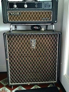 Vox, Bass Amps, Rock N Roll, Studio, Guitars, Rock Roll, Studios, Studying