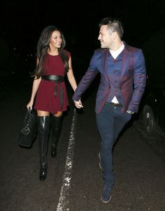 Mark Wright, Michelle Keegan, High Boots, Formal, Celebrities, Style, Fashion, Stretch Knee High Boots, Preppy