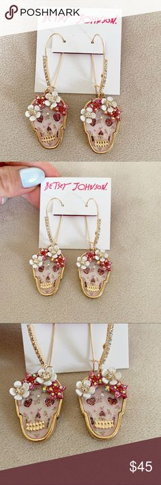 33a86c8818052 47 Best betsey johnson earrings images in 2014 | Betsey johnson ...