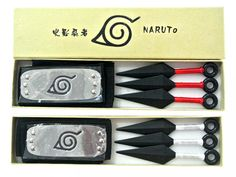 Everything on SALE & Free Worldwide Shipping! Naruto Weapon Model Toys Jewelry Set Accessories Price: $ 27.00 & FREE Shipping #nerd