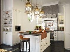 Американо-остров кухня-стрелковые пространства-малы