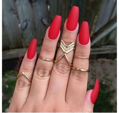 Tempted by love by laura. Red coffin nails.