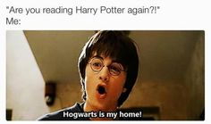 Hogwarts is my home!