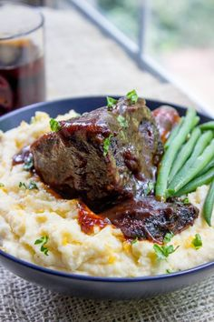 Easy Braised Short Ribs – Dinner, then Dessert
