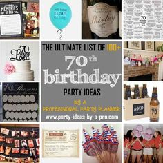 Birthday Ideas New 100 Birthday Party Ideas—by A Professional Party Planner Mom Birthday Gift, 70th Birthday Party Ideas For Mom, 75th Birthday Parties, 90th Birthday, Birthday Party Invitations, Birthday Sayings, Happy Birthday, Garden Birthday, Party