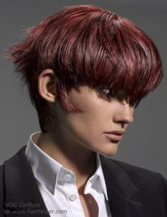 Hairstyles, haircuts, hair care and hairstyling. Hair cutting and coloring techniques to create today's popular hairstyles. Modern Hairstyles, Popular Hairstyles, Cool Hairstyles, Very Short Hair, Short Hair Cuts, Short Hair Styles, Hair Care Brands, Long Bangs, Styling Tools