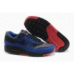 new products 7074a 4568d Nike Air Max 1 Og Diep Blauw Zwart Rood Goedkoop #NikeAirMaxDames  #NikeAirMaxDames