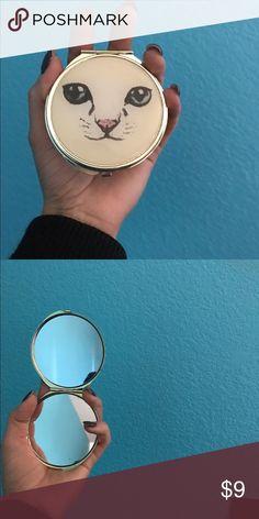 Pocket mirror Cat pocket mirror Makeup Brushes & Tools