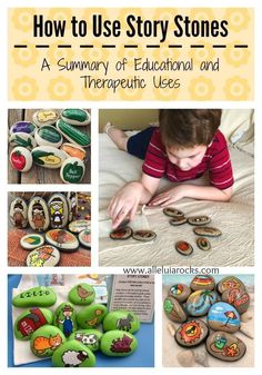 Are you a parent, a teacher, or a therapist? Story Stones are great tools for teaching children a variety of skills, including speech and language dev. Tools For Teaching, Teaching Kids, Preschool Education, Preschool Learning, Preschool Ideas, Art Education, What Is Story, Story Stones, Story Starters